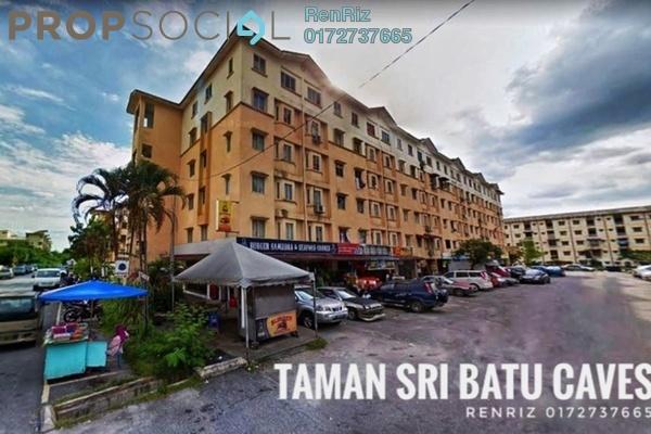 For Sale Apartment at Taman Sri Batu Caves, Batu Caves Freehold Unfurnished 3R/2B 155k