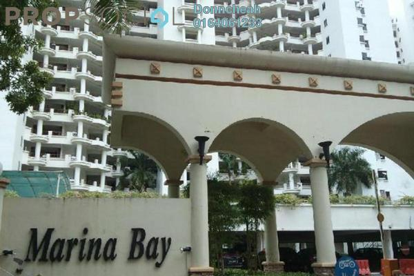 For Rent Condominium at Marina Bay, Tanjung Tokong Freehold Fully Furnished 3R/3B 2.9k