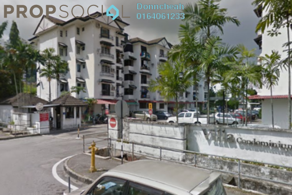 For Sale Condominium at Villa Kejora, Relau Freehold Unfurnished 3R/2B 220k