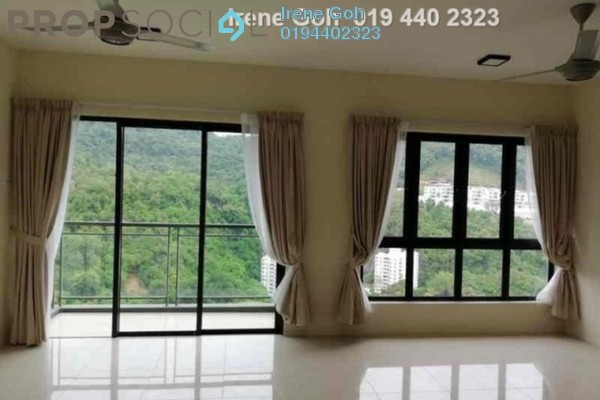 For Rent Condominium at Raffel Tower, Bukit Gambier Freehold Semi Furnished 3R/2B 2.2k