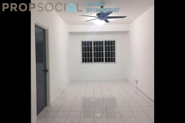 For Rent Apartment at Cemara Apartment, Bandar Sri Permaisuri Freehold Semi Furnished 3R/2B 1.5k