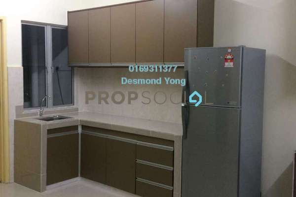 For Rent Townhouse at Sommerset Close, Bandar Sri Permaisuri Freehold Fully Furnished 4R/4B 2.5k