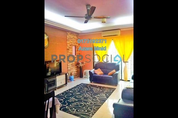 For Sale Condominium at Puri Aiyu, Shah Alam Freehold Fully Furnished 3R/2B 385k