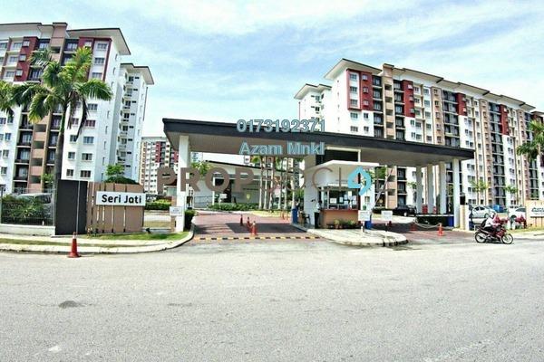 For Sale Apartment at Seri Jati Apartment, Setia Alam Freehold Unfurnished 3R/2B 290k