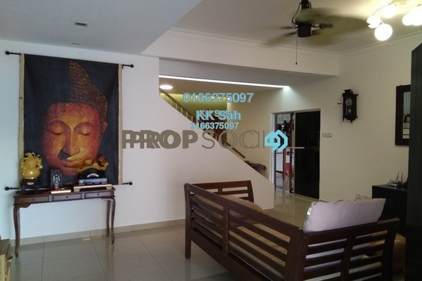 For Sale Superlink at Taman Damai Impian 2, Bandar Damai Perdana Freehold Fully Furnished 5R/4B 1.27m