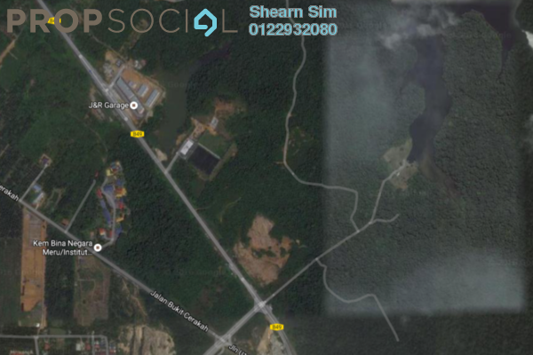 For Sale Land at Kampung Bukit Cherakah Jaya, Shah Alam Leasehold Unfurnished 0R/0B 48m