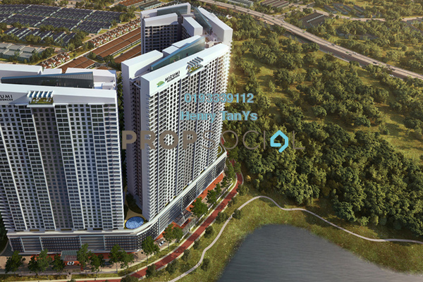 For Sale Condominium at Mizumi Residences, Kepong Freehold Unfurnished 3R/2B 415k