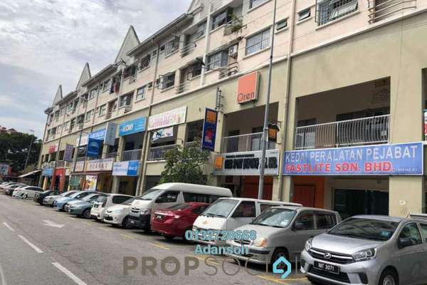 For Rent Shop at Fortune Court, Kepong Freehold Unfurnished 0R/0B 4k