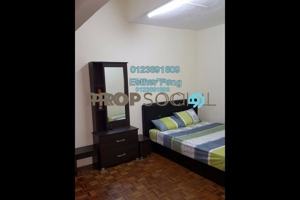 For Rent Terrace at Taman Sri Sinar, Segambut Freehold Fully Furnished 3R/3B 1.6k