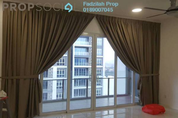 For Rent Condominium at EcoSky, Jalan Ipoh Freehold Semi Furnished 3R/2B 2.4k