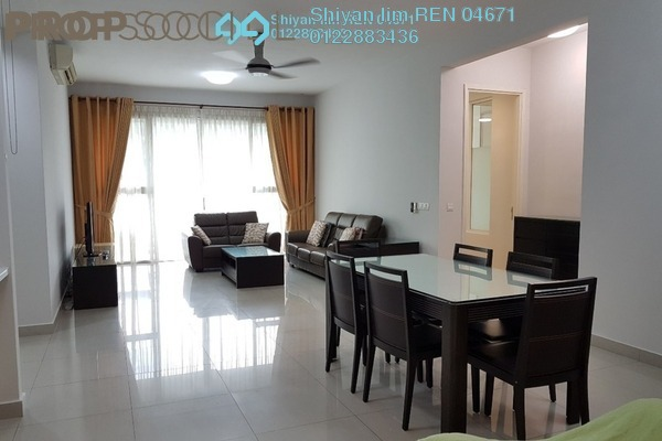 For Rent Condominium at Kiaramas Ayuria, Mont Kiara Freehold Fully Furnished 4R/3B 4.6k