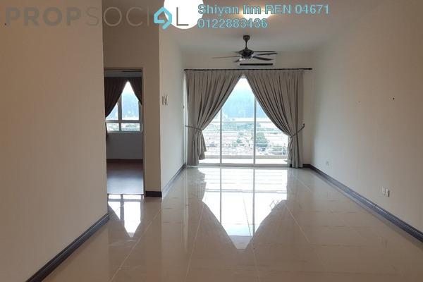 For Rent Condominium at Panorama Residences, Sentul Freehold Semi Furnished 3R/2B 1.7k