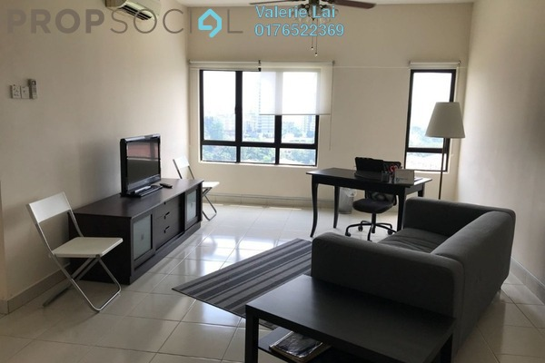 For Rent Condominium at Pelangi Damansara Sentral, Mutiara Damansara Freehold Fully Furnished 2R/2B 1.7k
