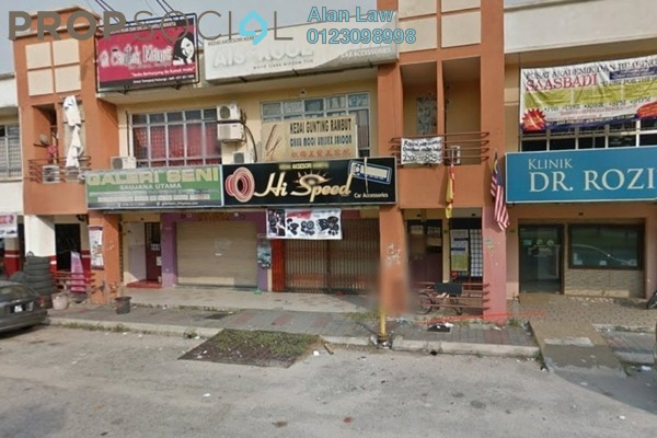 For Rent Shop at Bandar Saujana Utama, Sungai Buloh Freehold Unfurnished 0R/0B 3.8k