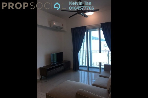 For Rent Condominium at Solaria Residences, Sungai Ara Freehold Fully Furnished 3R/2B 1.9k
