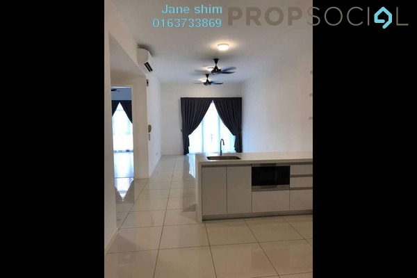 For Rent Condominium at EcoSky, Jalan Ipoh Freehold Semi Furnished 3R/2B 1.7k