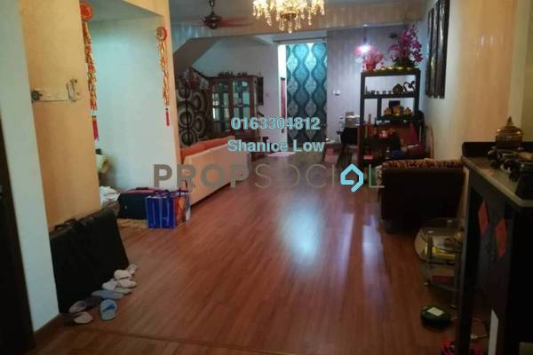 For Sale Terrace at Puteri 10, Bandar Puteri Puchong Freehold Semi Furnished 4R/3B 920k