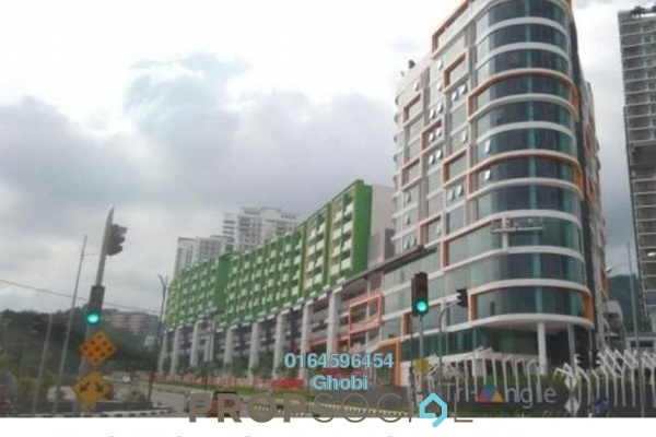 For Rent Condominium at Setia Tri-Angle, Sungai Ara Freehold Semi Furnished 3R/2B 1.5k