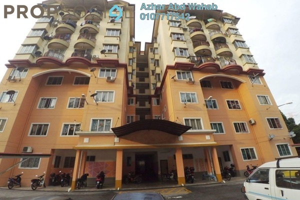 For Sale Apartment at Taman Seri Mewah, Kajang Freehold Unfurnished 3R/2B 265k