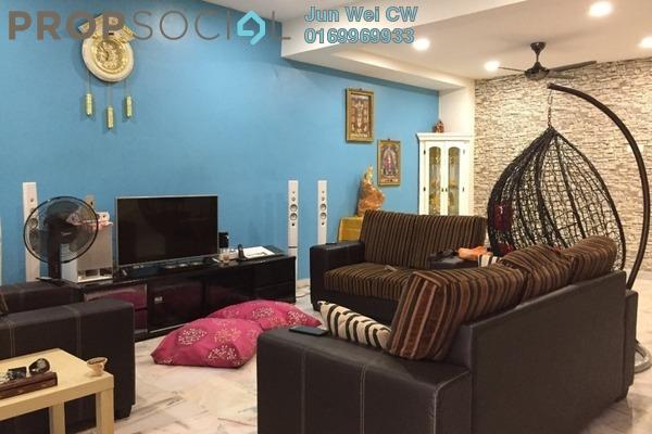 For Sale Terrace at Taman Teluk Pulai, Klang Freehold Semi Furnished 4R/3B 530k