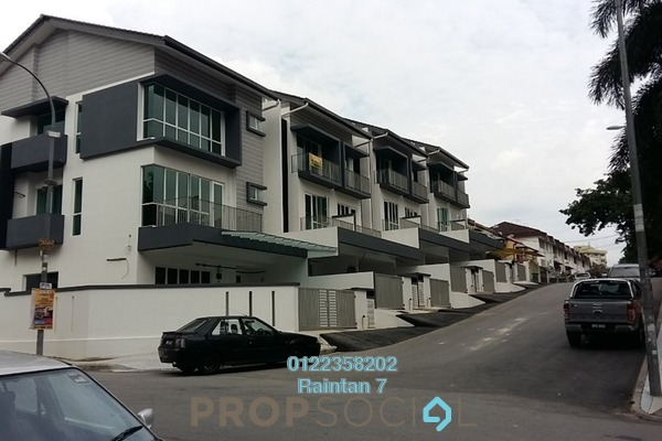 For Sale Terrace at Taman Bukit Intan, Sri Petaling Freehold Unfurnished 5R/4B 930k