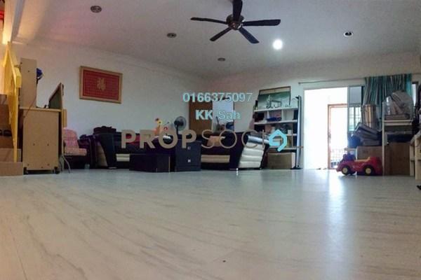 For Sale Terrace at Taman Bukit Angsana, Cheras South Freehold Semi Furnished 5R/3B 535k