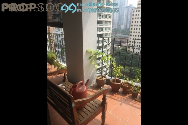 For Sale Condominium at Lanai Kiara, Mont Kiara Freehold Semi Furnished 3R/2B 739k