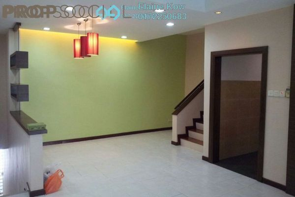 For Sale Terrace at Parkville Garden Townhouse, Sunway Damansara Leasehold Semi Furnished 3R/4B 900k