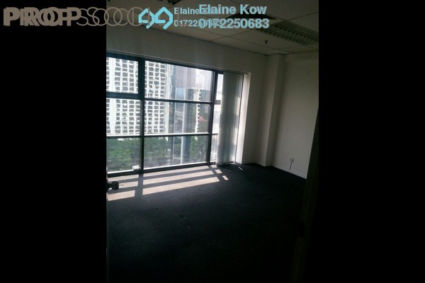 For Rent Office at Plaza 138, KLCC Freehold Semi Furnished 1R/1B 3k