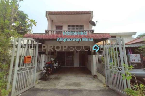 For Sale Terrace at Pandan Jaya, Pandan Indah Freehold Semi Furnished 4R/2B 425k