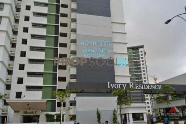For Sale Condominium at Ivory Residence, Kajang Freehold Semi Furnished 3R/2B 451k
