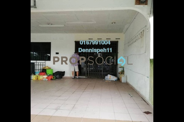 For Sale Terrace at Taman Aman, Senai Leasehold Unfurnished 4R/2B 368k