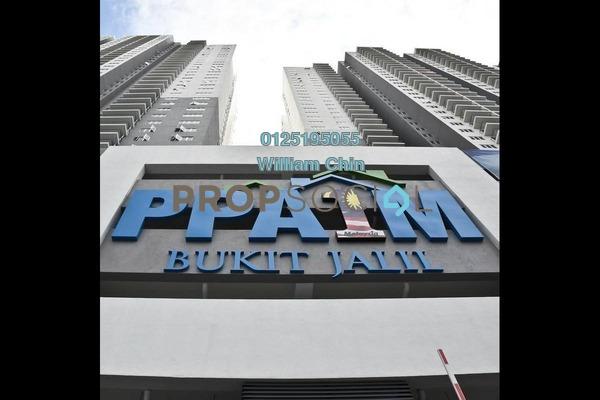 For Rent Condominium at Vista Komanwel, Bukit Jalil Freehold Semi Furnished 3R/2B 1.1k