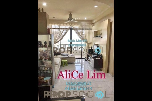 For Sale Condominium at Grand View, Tanjung Tokong Freehold Semi Furnished 3R/2B 570k