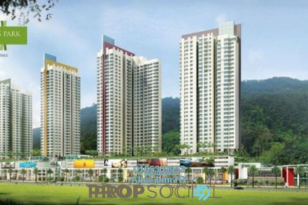 For Rent Condominium at All Seasons Park, Farlim Freehold Semi Furnished 3R/3B 1.5k