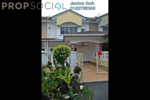 For Rent Terrace at Taman Maju 2, Kajang Freehold Semi Furnished 4R/2B 950translationmissing:en.pricing.unit