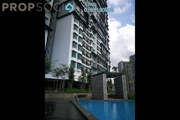 For Sale Condominium at D'Sands Residence, Old Klang Road Freehold Semi Furnished 3R/2B 750k