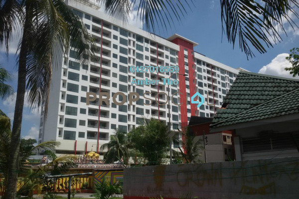 For Sale Condominium at Bayu @ Pandan Jaya, Pandan Indah Freehold Semi Furnished 3R/2B 501k