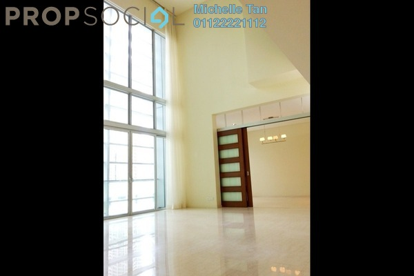 For Rent Duplex at Dua Residency, KLCC Freehold Semi Furnished 4R/5B 12k