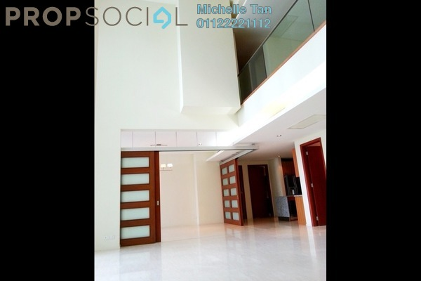 For Sale Duplex at Dua Residency, KLCC Freehold Semi Furnished 4R/5B 3.1m