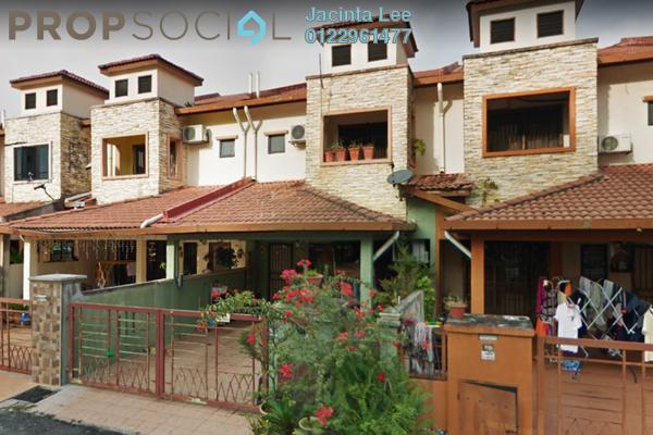 For Sale Terrace at Taman Bayu Perdana, Klang Freehold Semi Furnished 4R/3B 446k