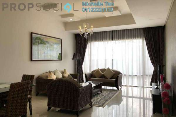 For Rent Serviced Residence at Pavilion Residences, Bukit Bintang Freehold Fully Furnished 2R/2B 7.3k