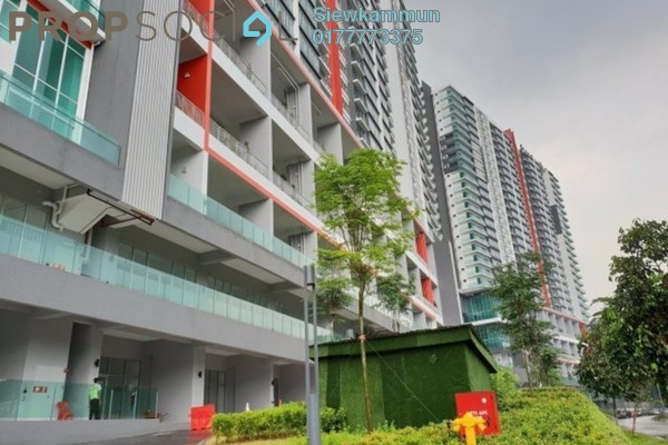 For Sale Serviced Residence at The Zizz, Damansara Damai Freehold Unfurnished 3R/2B 690k