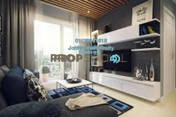 For Sale Condominium at Sunway Giza, Kota Damansara Freehold Semi Furnished 1R/1B 380k