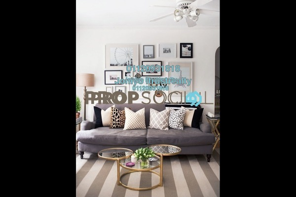 For Sale Condominium at Saujana Residency, Subang Jaya Freehold Semi Furnished 3R/2B 580k