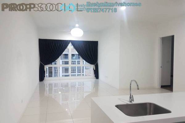 For Rent Condominium at EcoSky, Jalan Ipoh Freehold Semi Furnished 2R/2B 2.2k