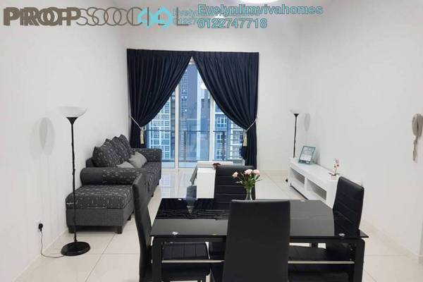 For Rent Condominium at EcoSky, Jalan Ipoh Freehold Fully Furnished 3R/2B 2.6k