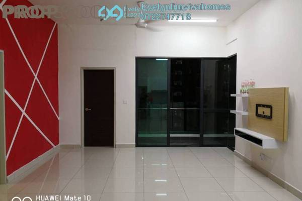 For Rent Condominium at Res 280, Selayang Freehold Semi Furnished 2R/2B 1.4k