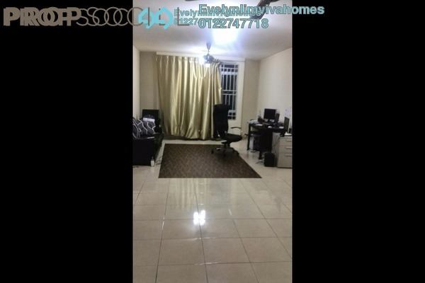 For Sale Condominium at Casa Prima, Kepong Freehold Semi Furnished 3R/2B 430k