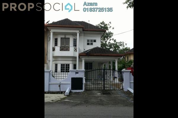For Sale Semi-Detached at Taman Bukit Jaya, Bukit Antarabangsa Freehold Semi Furnished 5R/3B 1.08m